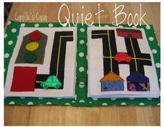 Camille's Casa: Quiet Book Revealed