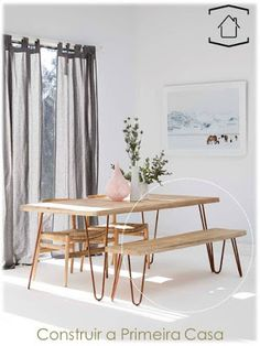 Make A Dining Room Statement With OZ Design Furnitureu0027s RAVI Dining Table  And Bench Seat. Dressed With Stunning Pastel Home Wares.