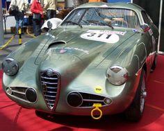 Alfa Romeo 1900 SSZ Spider Zagato I unica presa aria laterale destra