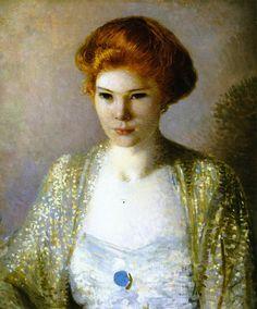 Ethel Cushing - Howard Gardiner Cushing  ~1904