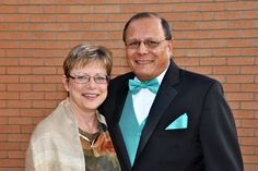 Rev. Harrell Davis, pastor of First Presbyterian Church of Sun City, and his wife Carol before the 50th anniversary gala