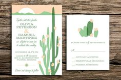 Inspirations cactus | Déco Mariage | Queen For A Day - Blog mariage