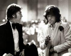 LES BRUITS MAGIQUES: Portfolio # 11 : John & Mick, The Rolling Beatles
