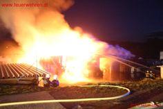 BFVDL: Hallenbrand Aibl #firefighters #feuerwehr