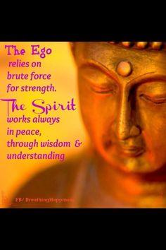 Ego vs. Spirituality