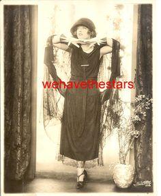 Vintage Marion Davies GORGEOUS 20s GLAMOUR DBW Publicity Portrait by IRA HILL