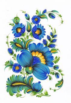 Автор:Олександр Опарі,Petrykivka art , Ukraine, from Iryna