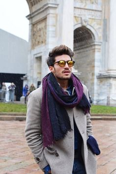 jacket and scarf. Winning combo.
