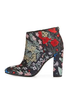 Sam Edelman Cambell Floral Ankle Boot, Gray/Multi