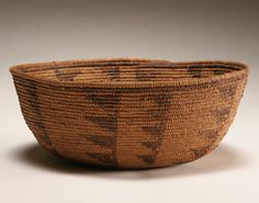 Native American Indian Pima hand woven basket | Antique Helper