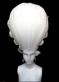 Marie Antoinette Oversized Powdered Wig