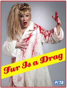 """""""PETA's Fur is a Drag campaign steps over theline"""" Actually, it's vicious BS that actively perpetuates transphobia."""