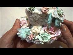 ▶ Wild Orchid Crafts DT Project~Altered Teacup Pin Cushion - YouTube