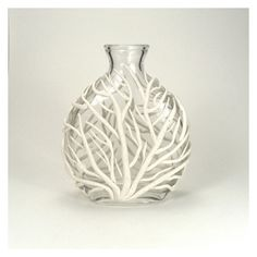 White Sea Fan Vase - Tidal / Gorgonian, Ocean Life, Underwater, Home Decor, Bud Vase, Clay