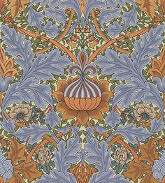 Morris Specialty Line - St. James Damask Wallpaper | Color: DOVE Victorian Wallpapers | Bradbury & Bradbury LINK: http://www.bradbury.com/victorian/sjw_501_dove.html#.UoXoeSffLLQ