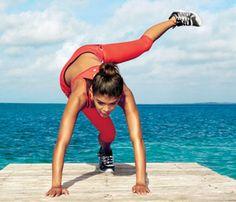 The 16-minute Beach Body Workout. The Move: Pendulum to Burn Fat. #SelfMagazine