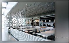 DURALMOND CELOSIA-Gitterwand von StoneslikeStones für die Gastronomie