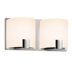 Sonneman C-Shell Bath Bar Wall Lamp
