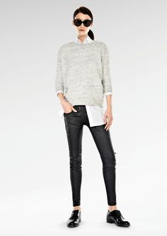 Evelyn Shah great casual look. Women's Casual Clothing 2014-2015  by G-Star RAW (2)
