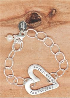 Mother's Day bracelet with grankids' names on it.  Plus this designer is awesome and super fast.  Lisa Leonard online dot com