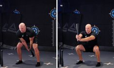 The Steel Club Two Handed Swing Squat is an excellent leg builder. Pilates, Squats, Basketball Court, Training, Australia, Exercise, Club, Steel, Workout