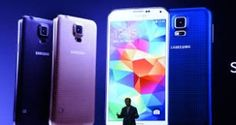 Latest Android Lollipop Samsung Unveils Galaxy S5 Mobile Phone