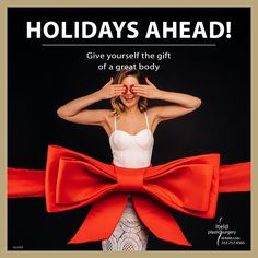 Holidays ahead! Give yourself the gift of a great body. So start now and be ready to celebrate in style. Call us to schedule your appointment 312.757.4505 #plasticsurgery #boardcertified #plasticsurgeon #chicagoplasticsurgery Body Surgery, Plastic Surgery Procedures, Body Contouring, Schedule, Bikinis, Swimwear, Slim, Holidays, Celebrities