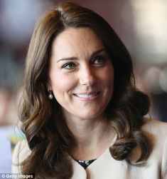 Kensington Palace today confirmed that this is the Duchess' last day at work before she ha...