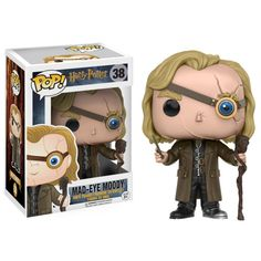 Vinyl Figure: Expand your Hogwarts family! Mad-Eye Moody joins the Harry Potter collection from Funko! Packaged in a window display box, this Harry Potter Mad-Eye Moody Pop! Vinyl Figure measures approximately 3 tall. Harry Potter Quidditch, Dobby Harry Potter, Objet Harry Potter, Harry Potter Films, Harry Potter Pop Figures, Harry Potter Pop Vinyl, Funko Pop Dolls, Funko Toys, Pop Figurine