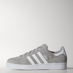The Campus shoes have been a casual classic for decades, and the junior Campus 2.0 shoes let the next generation of originals discover this enduring style. The shoes carry over familiar features, like the velvety suede upper and serrated 3-Stripes.