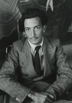 Dali photographed by Brassai