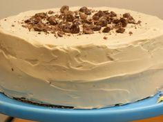 Pecan-Espresso Birthday Cake with Coffee Icing Recipe on Yummly. Coffee Ice Cream Cake Recipe, Coffee Icing, Coffee Cream, Tofu Dessert, Just Desserts, Dessert Recipes, Baking Powder Biscuits, Espresso Cake, Chocolate Covered Espresso Beans