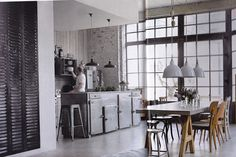 Inspiring Industrial Kitchen Industrial Luxe I Get A Kick Out Of You Industrial Kitchen Bench Kitchen Industrial Kitchen Design. Industrial Kitchen Hire. Industrial Kitchen Island Lighting.   offthewookie.com