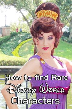How to find rare disney world characters l kennythepirate.com #disney world #characters #rarecharacters