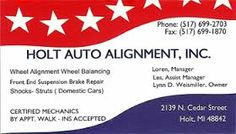 Alignment business cards. Really good alignment, really like this. Well organised chaos. Everything is very neatly and tidily aligned. Easy to read. A patriotic design which would do well in America, especially in the Southern States.  The card has the look of a flag blowing in the wind, high in the sky.