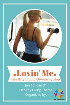 Healthy Living Giveaway Hop from SusieQTpies Cafe