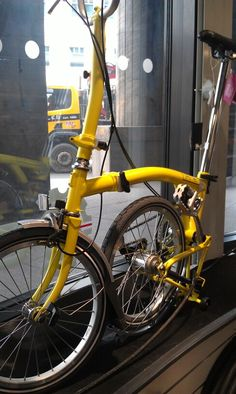 Hey Brompton, why did you stop offering yellow?