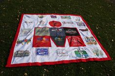 Ironman MDot blanket using all those race shirts in the drawer Gifts For Triathletes, Triathlon Training, Ironman Triathlon, Triathlon Motivation, Race Bibs, Gifts For Runners, Man Quilt, Running Inspiration, Shirt Quilt