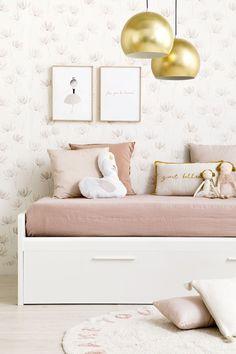 Celian cama infantil blanca cama nido o cajones - Kenay Home