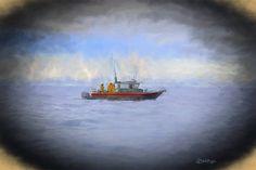 Fishing Boat - Photography - Fishing Boat Print - Ocean - Alaska - Sitka - Fisherman - Ocean Photography - Deep Sea Fishing - Maritime Print by BrightArtStudios on Etsy