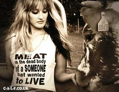Meat is the DEAD body of a SOMEONE that wanted to LIVE  Go Vegan