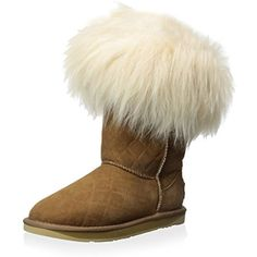 Women's Foxy Shearling Short Quilted Boot -- Check this awesome product by going to the link at the image. (This is an affiliate link) #MidCalf