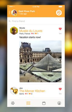 Pinployee @wendylu1 uses Swarm to check-in to all of her favorite spots