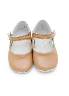 Patent Button Strap Slippers : Rachel Riley : Fawn Shoppe - Global Boutique For Unique Children's Designs