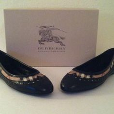 I just added this to my closet on Poshmark: NEW in Box BURBERRY Brogue Tudor Flats, Sz 9. Price: $275 Size: 9