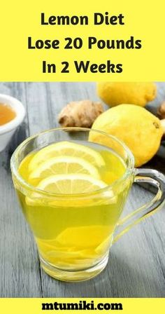 #LemonDiet : Lose 20 Pounds In 2 Weeks