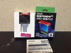 Expansion Pak Nintendo 64 Japan NTSC-J boxed set N64 Enchou Pack