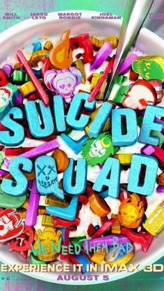 "The IMAX ""Suicide Squad"" poster is pretty sweet."