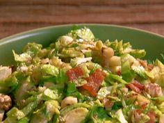 Brussels Sprouts with Bacon and Walnuts recipe from Patrick and Gina Neely via Food Network
