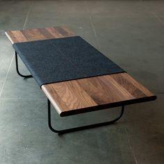 Table basse moderne (charbon de bois)